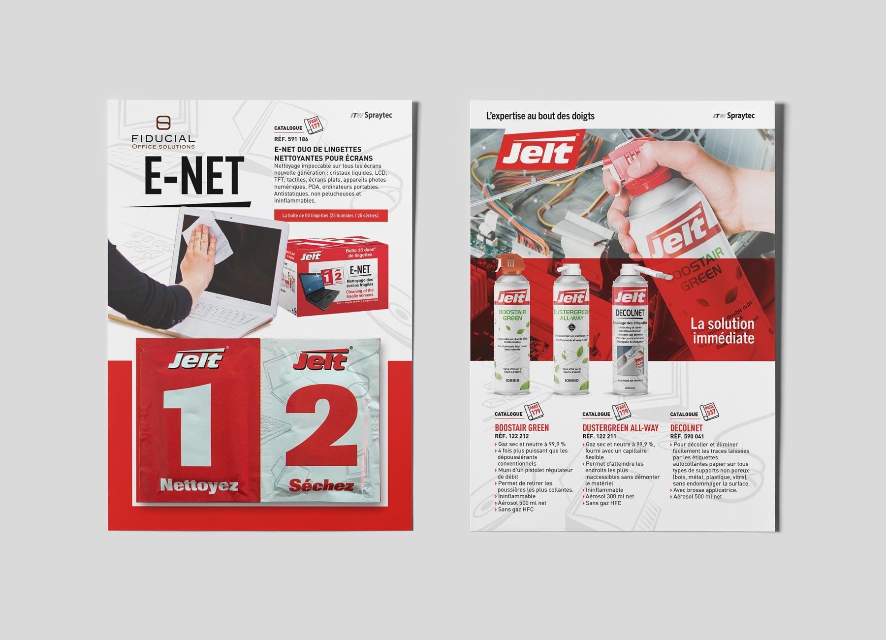 Flyer E NET